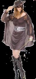 Mystery Heroine Costume