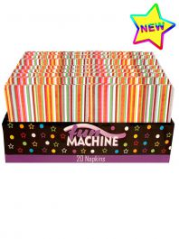 Napkins Stripy (2 Ply) Pack of 20