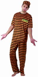 Naughty Prisoner Adult Costume