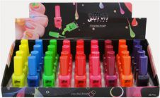 Neon Nail Polish Tray of 36 Pcs