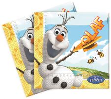 OLAF Summer Lunch Napkins (Pack of 20)
