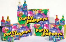 Party Poppers Box (12 Packs)