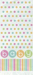 Pastel Baby Shower Cello Bag (Pack of 20)