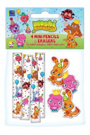 Moshi Monster Pencils & Erases