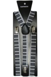Piano Printed Braces