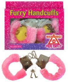 Pink Fur Handcuffs