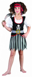 Pirate Girl Children Costume