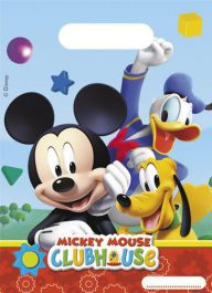 Playful Mickey Party Bags (Pack of 6)