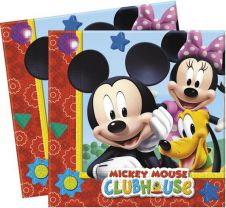 Playful Mickey Lunch Napkins (Pack of 20)