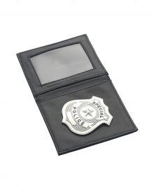 Police Badge Sliver in Wallet