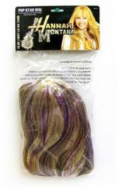 Pop Star Wig W/Purple Lurex