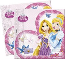 Princess Glam Lunch Napkins (Pack of 20)