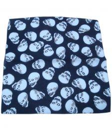 Printed Skull Bandana (1 Dozen)