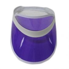 Purple Poker Visor Hat (12 Pcs)