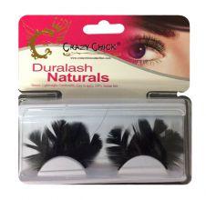 Re-useable Feather Black Eyelashes