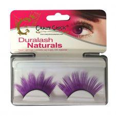 Re-useable Purple Eyelashes