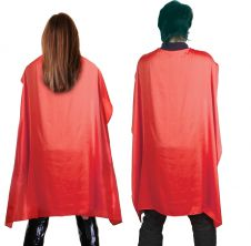 Wicked Fun Red Deluxe Satin Cape