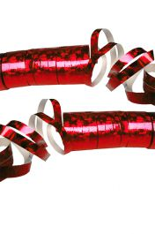 Red Laser Streamers (Pack of  2)