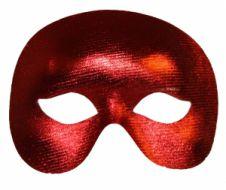 Red Shiny Eye Mask