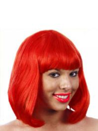Red Mid Wig 120g