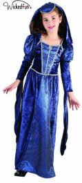 Lady Camelot Renaissance Princess Children Costume