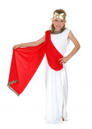 Roman Goddess Children Costume