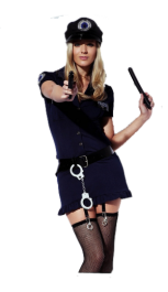 Sexy Police Woman Outfit Costume