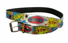 Silver Belt Super Bang Printed