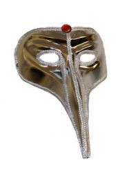 Silver Elephant Eye Mask