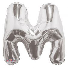 Silver Letter Balloon - M- (14inch)