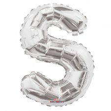 Silver Letter Balloon - S - (14inch)