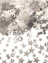 Silver Star Confetti (Aged 30)