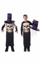 Skull Mad Hatter Child Costume