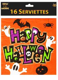 Spooky Serviettes (Pack of 16)