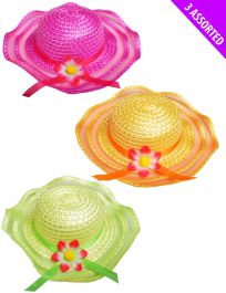 Summer Hat Assorted Colours