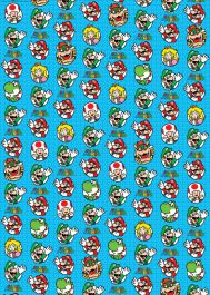 Super Mario Roll Wrap (2 meter)