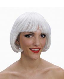 Super Model White Wig