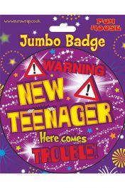 Teenager Giant Badge