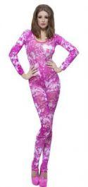Tie Dye Pink Body suit Costume