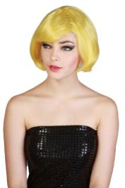 Top Fashion Model Yellow Wig