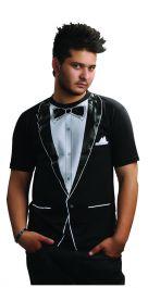 Tuxedo Printed T-Shirt