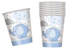 UmbrellaPhants Blue 9 Oz Cups