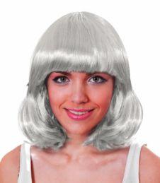 White Mid Wig
