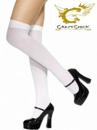 White Plain Stockings