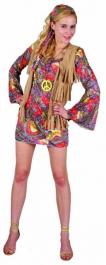 Woodstock Flower Girl Adult Costume