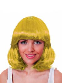 Yellow Mid Wig