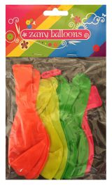 12 Inches Zany Balloons (Pack of 12)