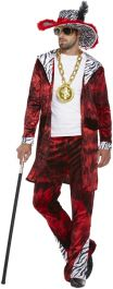 Adult Big Daddy Red Costume