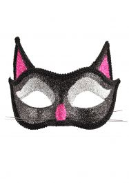 Adult Cat Glitter Eye Mask