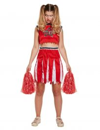 Adult Cheerleader Zombie Dress
